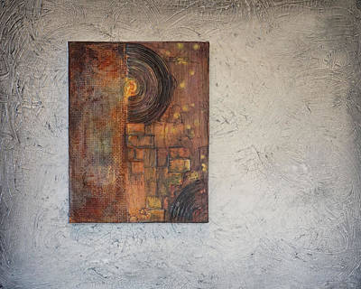 Painting - Beautiful Corrosion Too by Theresa Marie Johnson