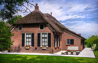 Photograph - Beautiful Cottage In Giethoorn by Jenny Rainbow