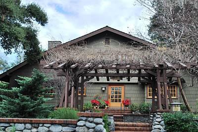 Photograph - Beautiful Craftsman Style House - Green by Matt Harang