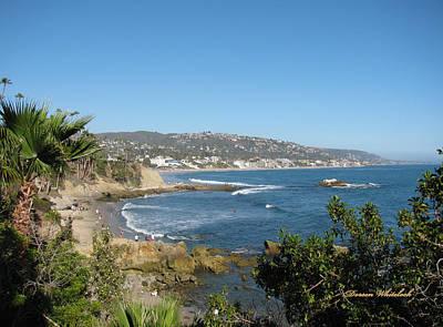 Photograph - Beautiful Day At Laguna Beach by Doreen Whitelock