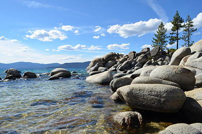 Photograph - Beautiful Day At Lake Tahoe by Alex King