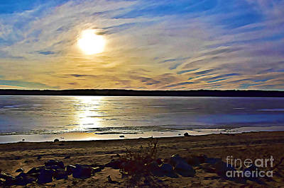 Photograph - Beautiful Day At The Beach by Kathy M Krause