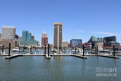 Photograph - Beautiful Day In Baltimore by Carol Groenen