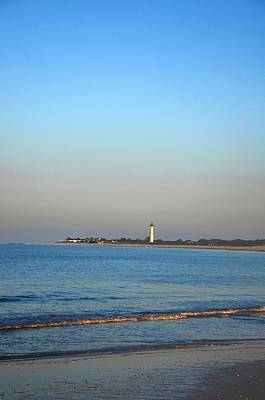 Lighthouse Digital Art - Beautiful Day In Cape May by Bill Cannon