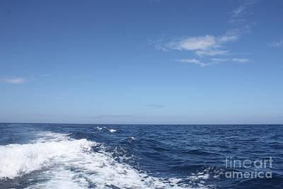 Beautiful Day On The Atlantic Ocean Art Print