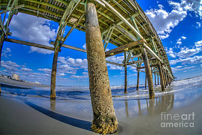 Photograph - Beautiful Day Under Pier by David Smith