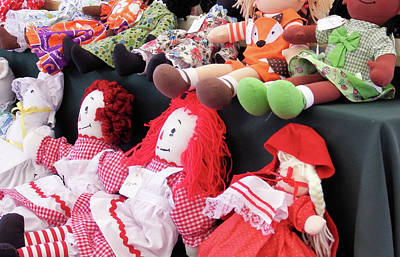 Photograph - Beautiful Dolls by Cathy Harper