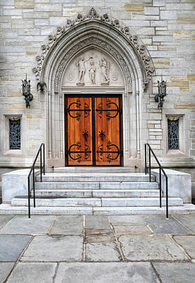 Photograph - Beautiful Door At Princeton University by Dave Mills