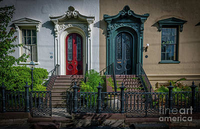 Photograph - Beautiful Doors On Bull Street by Dale Powell