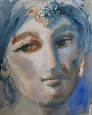 Dolores Painting - Beautiful Dreamer by Dolores Mitchell