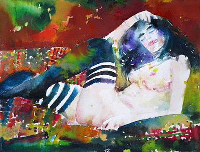 Painting - Beautiful Dreamer by Fabrizio Cassetta