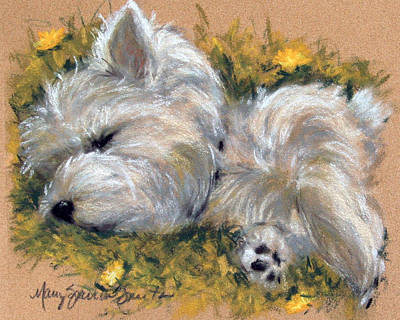 Seasons Painting - Beautiful Dreamer by Mary Sparrow