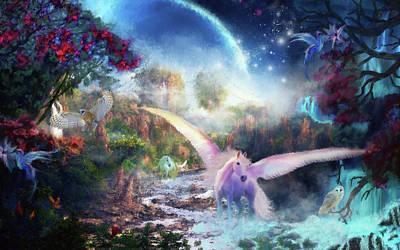 Painting - Beautiful Dreams by Debora Nash