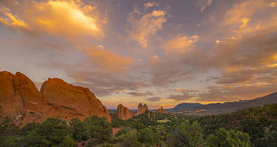 Beautiful Earth And Sky Art Print by Tim Reaves