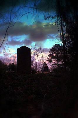 Beautiful Evening In The Graveyard Art Print