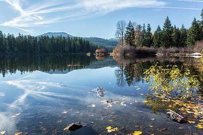 Photograph - Beautiful Fall Day At Fish Lake by Belinda Greb