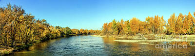 Photograph - Beautiful Fall On The Payette by Robert Bales