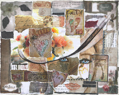 Mixed Media - Beautiful Forever by JoDee Luna