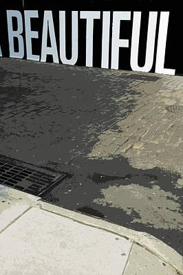 Streetscape Digital Art - Beautiful by Franck Hodelin