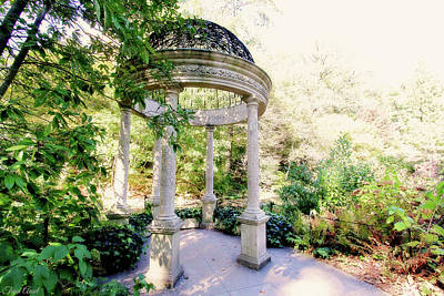 Photograph - Beautiful Gazebo by Trina Ansel