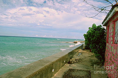 Photograph - Beautiful Grand Turk Coastline by Gary Wonning