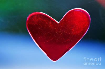 Beautiful Heart Decoration Art Print
