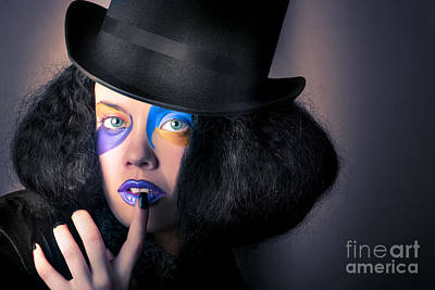 Photograph - Beautiful High Fashion Woman In Creative Makeup by Jorgo Photography - Wall Art Gallery