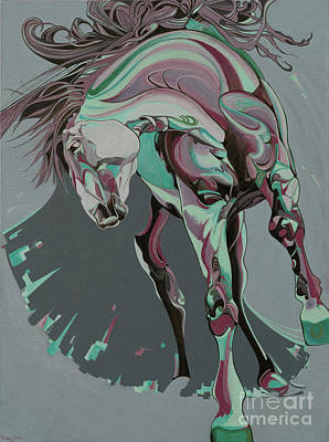 Beautiful Horse  Original by Yaani Art
