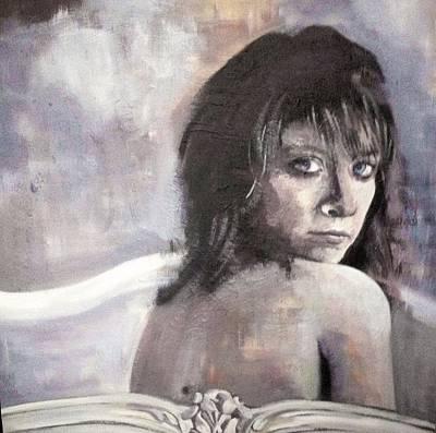 Portrait Painting - Beautiful Imperfection by Stephanie Fonteyn