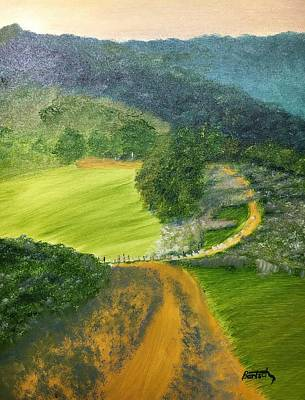 Painting - Beautiful Ireland by David Bartsch