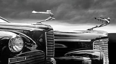 Digital Art - Beautiful Lady Hood Ornaments by Larry Butterworth
