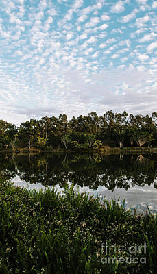 Photograph - Beautiful Lake In Springfield Lakes In The Morning. by Rob D