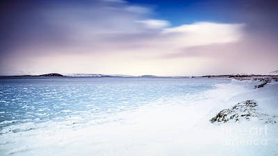 Photograph - Beautiful Landscape Of Iceland by Anna Om
