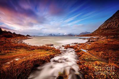Photograph - Beautiful Landscape Of Lofoten by Anna Om