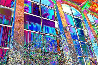 Digital Art - #beautiful #landscape #psychedelic #photography #malibu #california #fun #wild #crazy #building by Grace Divine