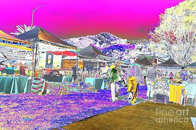 Photograph - #beautiful #landscape #psychedelic #photography #malibu #california #fun #wild #crazy #fair     by Grace Divine