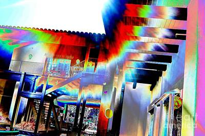 Digital Art - #beautiful #landscape #psychedelic #photography #malibu #california #fun #wild #crazy #light by Grace Divine