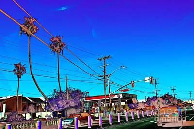 Digital Art - #beautiful #landscape #psychedelic #photography #malibu #california #fun #wild #crazy #road  by Grace Divine
