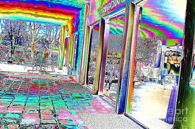 Digital Art - #beautiful #landscape #psychedelic #photography #malibu #california #fun #wild #crazy #store #window by Grace Divine