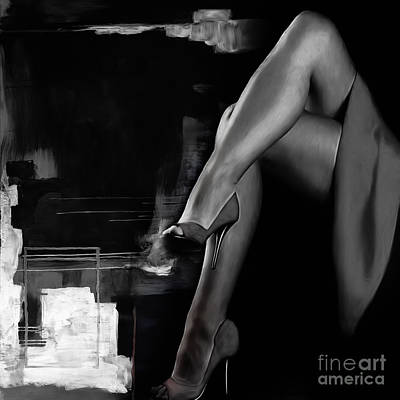 Passionate Painting - Beautiful Legs by Gull G