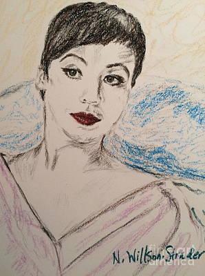 Beautiful Leslie Original by N Willson-Strader