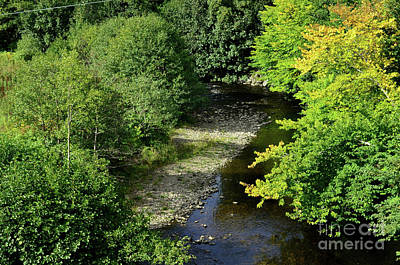 Photograph - Beautiful Look At A Winding Stream In The Scottish Highlands by DejaVu Designs