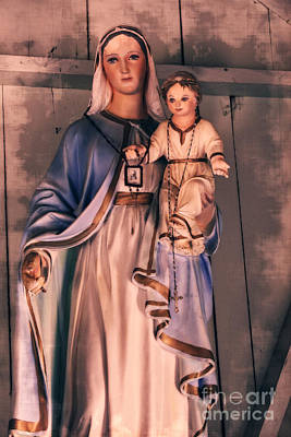Photograph - Beautiful Mary - Mother Of The Christ #795 by Ella Kaye Dickey