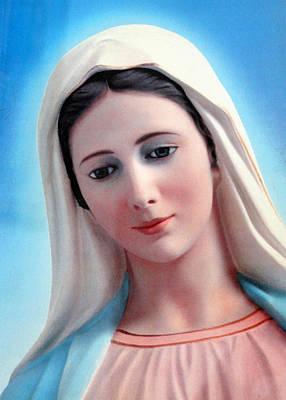 Photograph - Beautiful Mary by Munir Alawi