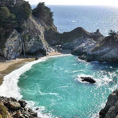 Photograph - Beautiful #mcwayfalls In #bigsur by Patricia And Craig