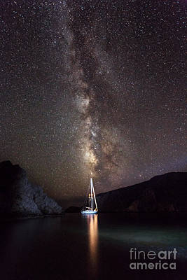 Photograph - Beautiful Milky Way View by Anna Om