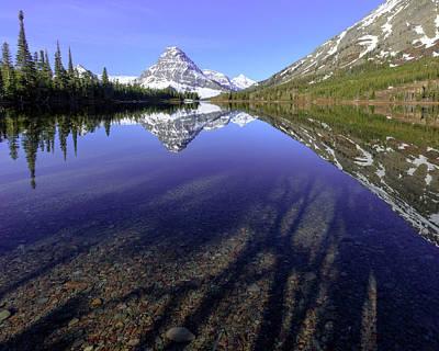 Photograph - Beautiful Morning At Pray Lake by Jack Bell