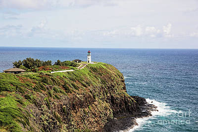 Photograph - Beautiful Morning At The Kilauea Lighthouse by Scott Pellegrin