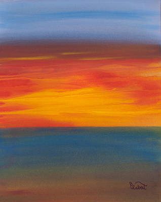 Beautiful Morning Art Print by Bonnie Rabert