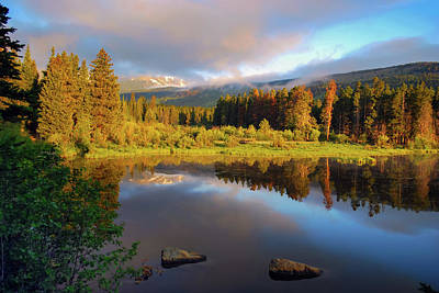 Photograph - Beautiful Morning In Rocky Mountains - Colorado by Gregory Ballos